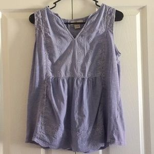 Tops - Beautifully detailed tank top
